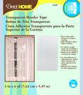 Transparent Header Tape 3in 6yd Pkg