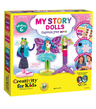 Creativity for Kids My Story Dolls Craft Kit