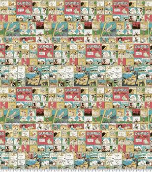 Disney Dumbo Cotton Fabric-Circus Tales