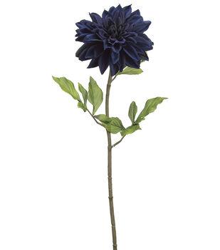 """Bloom Room 29"""" Dahlia Stem-Blue"""