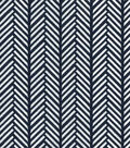 Quilter\u0027s Showcase Cotton Fabric -Linear Arrows on Navy