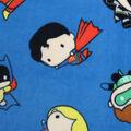 DC Comics Fleece Fabric-Kawaii Tossed