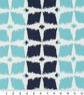 Robert Allen @ Home Upholstery Swatch 56\u0022-Neo Motif Aqua