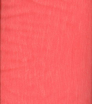 """Matte Tulle Fabric 108""""-Tango Red"""