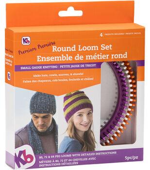 Knitting Board Premium Round Loom Set