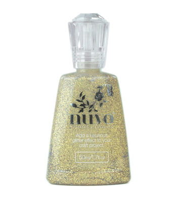 Nuvo Glitter Accent 1.7oz-Aztec Gold