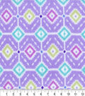Anti-Pill Fleece Fabric -Benthos Geo