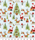 Christmas Cotton Fabric 44\u0022-Christmas Characters