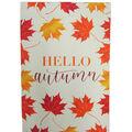 Simply Autumn 12\u0027\u0027x18\u0027\u0027 Flag-Hello Autumn & Leaves