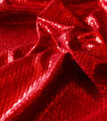Performance Ultimate Poly Spandex Fabric -Volcano Red