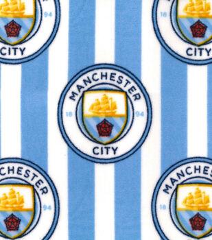 Manchester City Football Club Fleece Fabric