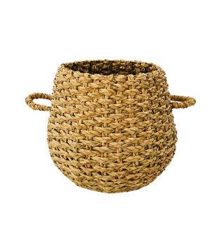 In the Garden Cattail Storage Basket