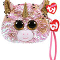 Ty Inc. Fashion Reversible Sequin Fantasia Unicorn Wristlet