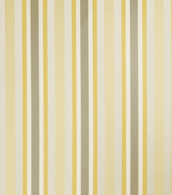 "Jaclyn Smith Upholstery Fabric 54""-Anubis/Lemon Zest"