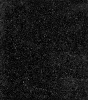 Glitterbug Glitter Panne Velvet Fabric -Black