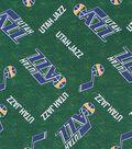 Utah Jazz Cotton Fabric 44\u0022-Logo Toss