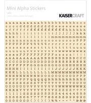 Kaisercraft Mini Alpha Stickers, , hi-res