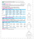 Kwik Sew Pattern K4159 Misses\u0027 Gathered Back Tops-Size XS-S-M-L-XL