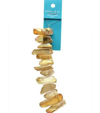 hildie & jo Strung Beads-Tan Stones