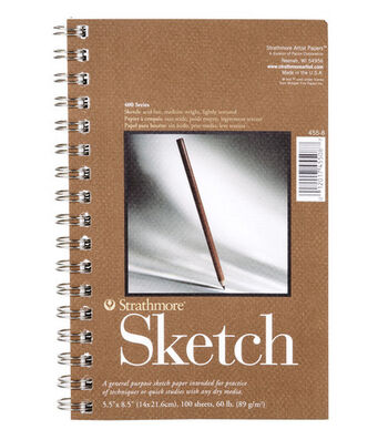 "Sketch Pad 5.5""X8.5"""