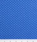 Keepsake Calico Cotton Fabric 43\u0022-Blue Lined Dot