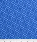 Keepsake Calico Cotton Fabric -Blue Lined Dot