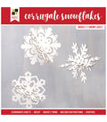 DCWV Paper Projects-Corrugate Snowflakes
