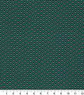 Quilter\u0027s Showcase Fabric 44\u0027\u0027-Pool Green & Black Geometric