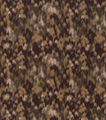 Keepsake Calico Cotton Fabric -Multi Dark Brown Abstract Blender