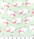 Snuggle Flannel Fabric 42\u0022-Sheepie