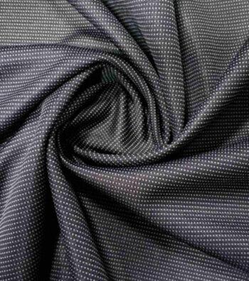 "Loungeletics Reversible Quick Dry Knit Fabric 31""-Black/Grey"