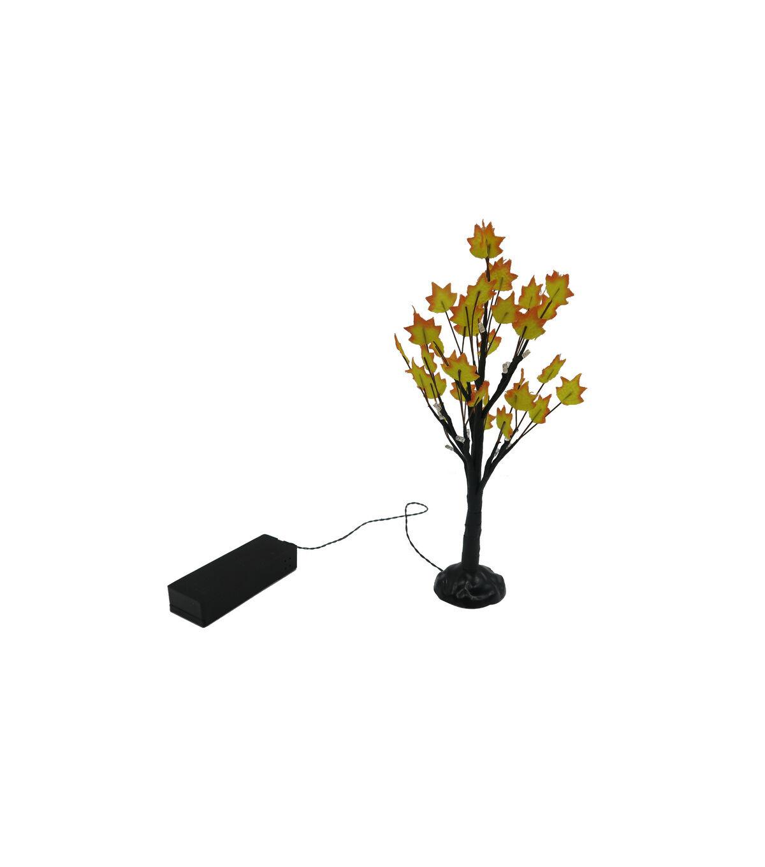 Simply Autumn LED 9u0027u0027 Mini Tree Yellow