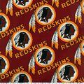 Washington Redskins Cotton Fabric -Logo Circles
