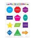 Spanish Chart Confetti Shapes 10pk