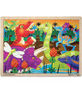 Melissa & Doug Prehistoric Sunset (Dinosaurs) Jigsaw (24 pc)