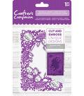 Crafter\u0027s Companion 4.25\u0027\u0027x5\u0027\u0027 Cut & Emboss Folder-Botanical Garden