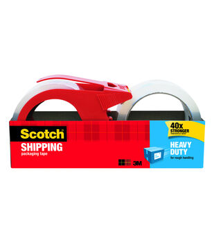 Scotch 2 pk Heavy Duty Shipping Packing Tapes