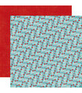 Echo Park Paper Company A Perfect Winter 25 pk Cardstock-Winter Berries