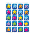 Teacher Created Resources Colorful Stars Stickers 12 Packs