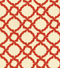 Waverly Upholstery Fabric 54\u0022-Kent Crossing/Crimson