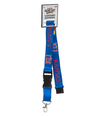 University of Kansas Jayhawks Lanyard Keychain