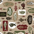 Super Snuggle Flannel Fabric-Fishing Patch