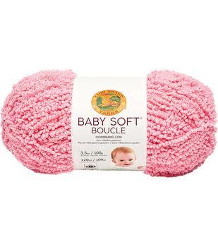 Lion Brand Baby Soft Boucle Yarn