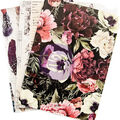 Prima Marketing Traveler\u0027s Journal Personal Refill 3/Pkg-Midnight Garden