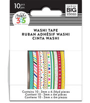 The Happy Planner Mini Washi Tape-Brights, , hi-res