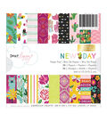 American Crafts Dear Lizzy New Day 36-sheet Single-sided Paper Pad