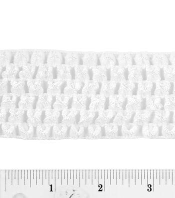 1-3/4'' stretch crochet braid trim