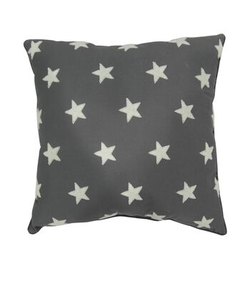 Camp Ann 18''x18'' Pillow-Stars