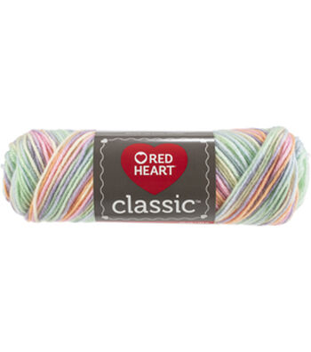 Red Heart Classic Yarn-Tropical Fruit Multipack of 12