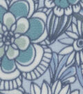 Anti-Pill Fleece Fabric -Madianne Beach Glass